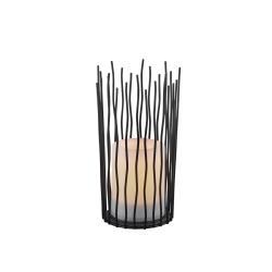 Reality Leuchten Coro LED solární stolní lampa, s efektem plamene