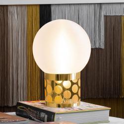 Slamp Slamp Atmosfera stolní lampa, Ø 20 cm, zlatá