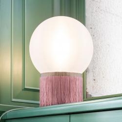 Slamp Slamp Atmosfera stolní lampa Fringe 30 cm růžová