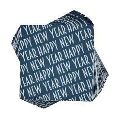 """APRÉS Papírové ubrousky """"Happy New Year"""" 20 ks"""