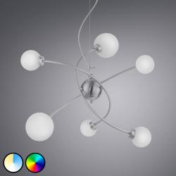 Trio Lighting Trio WiZ Dicapo LED závěsné světlo, 6-plamenový