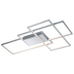 Trio Lighting Trio WiZ Thiago LED stropní světlo 114cm, nikl