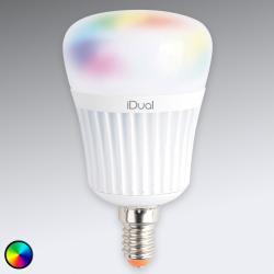 iDual E14 iDual LED žárovka 7 W RGB bez ovládání