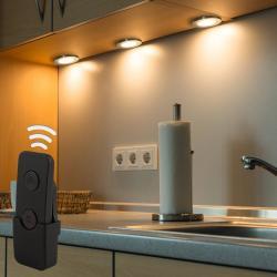 Heitronic LED podlinkové světlo Palermo čtvercový sada 3ks