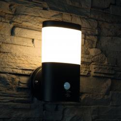 Heitronic LED venkovní světlo Camella nerez se senzorem