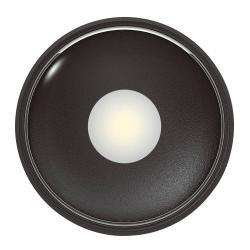 Heitronic LED venkovní stropní světlo Girona, antracit