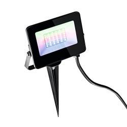 Heitronic LED venkovní reflektor Kingston s hrotem, RGBW