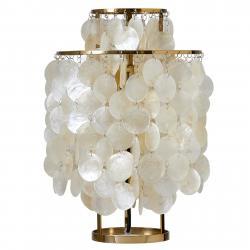VERPAN VERPAN Fun 2TM - perleťová stolní lampa, mosaz