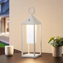 Lucande Lucande Miluma LED venkovní lucerna, 54 cm, bílá