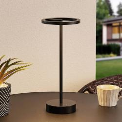 Lucande Lucande Halona stolní lampa LED, USB, černá