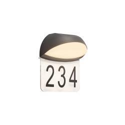 Lucande Lucande Loena LED osvětlení čísla domu