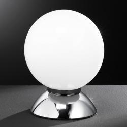 Wofi PLUTO kuželová stolní lampa, chrom