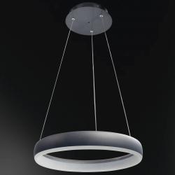 Wofi WiZ Clint LED závěsné světlo černé, Ø 40 cm