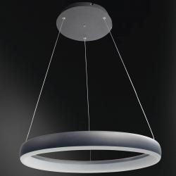 Wofi WiZ Clint LED závěsné světlo černé, Ø 60 cm