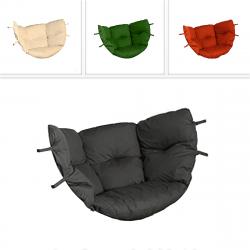 DEOKORK Náhradní polstr s výplní k houpačce ZITA (různé barvy) terakotta