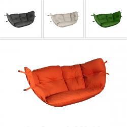 DEOKORK Náhradní polstr s výplní k houpačce PETRA (různé barvy) antracit