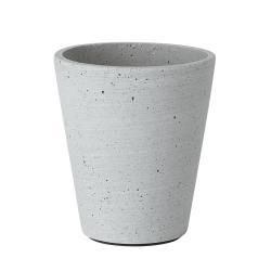 Květináč Coluna světle šedý O 11 cm Blomus