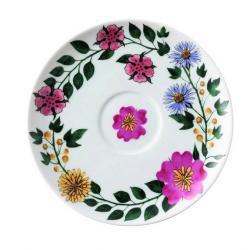 Podšálek na cappuccino šálek Magic Garden Blossom Rosenthal 16 cm