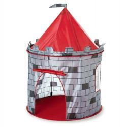 IPLAY Dětský stan rytířský hrad šedý