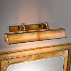 Cremasco Osvětlení obrazu Galleria jantar/mosaz