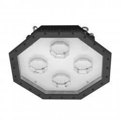 EGG LED halový reflektor Giga 8hranný s IK10, 175 W