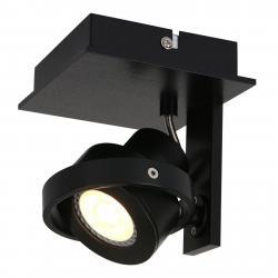 Steinhauer BV LED nástěnné bodové světlo Westpoint, 1zdr, černé