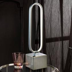 Schuller Stolní lampa LED Colette krásný design, chrom