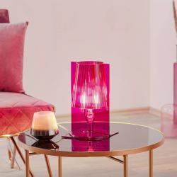 Kartell Kartell Take stolní lampa, růžová