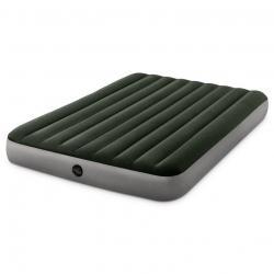 Nafukovací matrace Intex 203 x 152cm zelená + pumpa