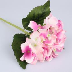 Umělá hortenzie fialová, 36 cm