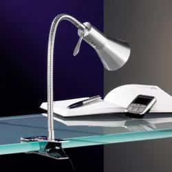 FISCHER & HONSEL Stolní lampa se svorkou CLIFF