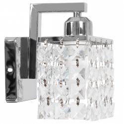 TooLight Nástěnná lampa Crystal APP543-1W chrom
