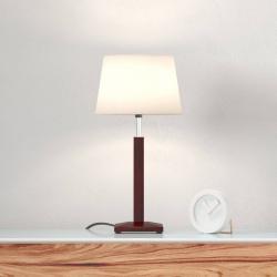 Aluminor Stolní lampa Zanzibar lt, ebenové dřevo