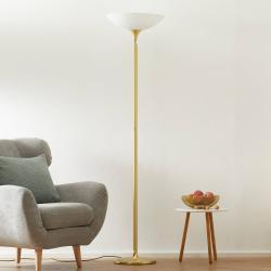 BANKAMP BANKAMP Opera LED stropní lampa stmívač, mosaz