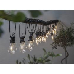 Venkovní světelný LED řetěz Best Season Circus Filament, 20 světýlek
