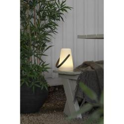 Bílá LED lucerna Best Season Linterna, výška 29 cm