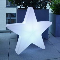 Moree LED dekorační hvězda Star, kabel, 57x55cm