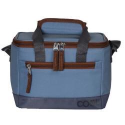 Chladicí taška Oxford 5 l, modrá, 21,5 x 16,5 x 13 cm