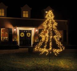 Kaemingk LED strom Cluster hrot 3 stupně 1200 zdrojů 200 cm