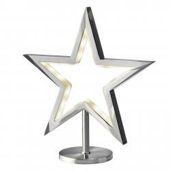 Sompex LED hvězda Lucy stojací chrom