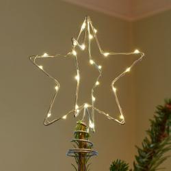 Sirius LED dekorativní světlo Vánoce Top, stříbrný