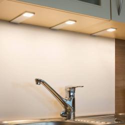 Heitronic LED podlinkové světlot Cortina, sada 3ks