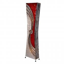 Woru Projmutá stojací lampa Alisa, 150 cm