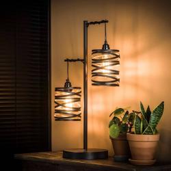 ZIJLSTRA Stolní lampa Spindlight, dva zdroje, výška 70 cm