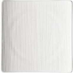 Hranatý mělký talíř Mesh Rosenthal bílý 22 cm