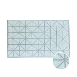 COLOUR CLASH Vnitřní a venkovní koberec diamant 180 x 120 cm - šalvějová