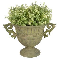 Kovová vysoká váza na květiny Esschert Design
