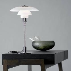 Louis Poulsen Louis Poulsen PH 3/2 stolní lampa pochromovaná