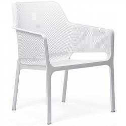 Hector Zahradní židle Nardi Net Relax bílá