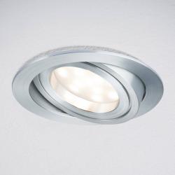 Paulmann Paulmann Coin LED vestavné světlo kulaté 3k hliník